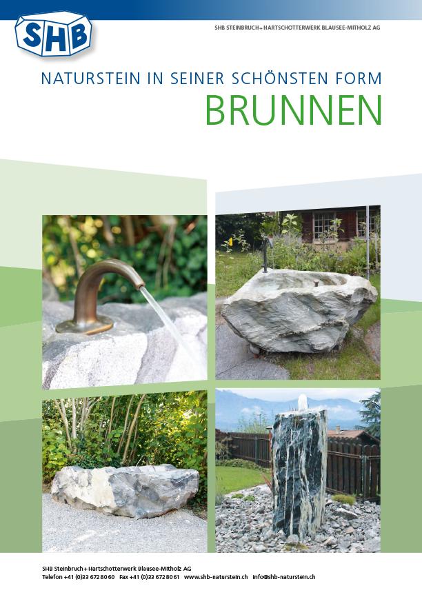 SHB Naturstein Brunnen