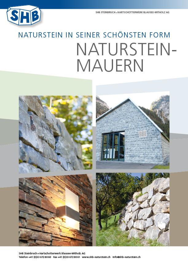 SHB Naturstein Mauern